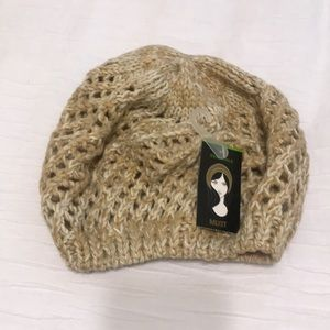 NWT crocheted slouchy hat